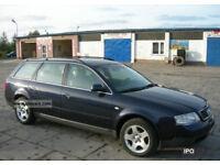 AUDI A6 1.9 TDI DIESEL ESTATE CAR, REVERSING SENCORS, DRIVES LOVELY, TOWBAR, 55 MPG, LONG MOT.