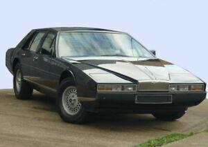 1982 Aston Martin Lagonda Black 3 Speed Automatic Saloon