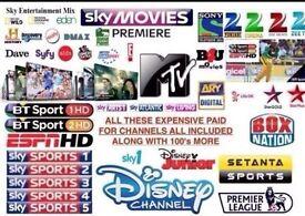 Sky TV no monthly bills