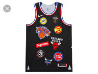 Supreme x Nike x NBA jersey willing to go lower message me for offers