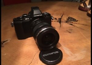 Olympus Om-d E-m5 with multifunctional lens 12-50mm F/3.5-6.3