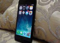 Mint black iPhone 5, 400 OBO