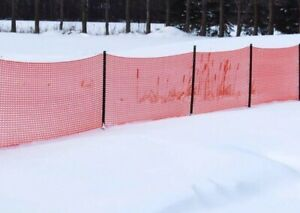 Snow/Safety Fencing