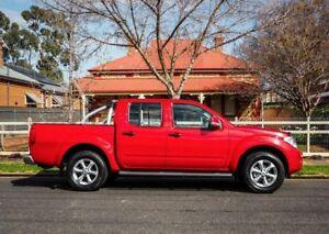 2012 Nissan Navara D40 S6 MY12 ST 4x2 Red 6 Speed Manual Utility