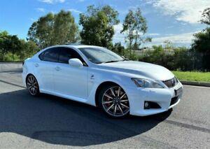 2010 Lexus IS USE20R MY10 IS F White 8 Speed Sports Automatic Sedan