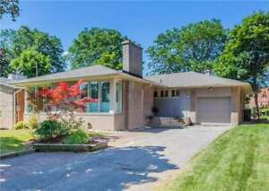 North York  beautiful 3+1 BR detached house  for rent