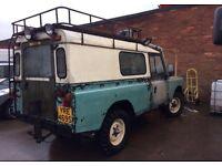 Taken in part ex Low mileage Land Rover defender 110 £750!! 4X4