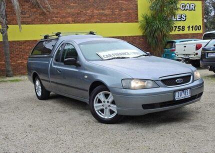 2005 Ford Falcon BA Mk II XL Silver 4 Speed Automatic Utility