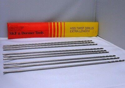 Lot Of 3 Skf Dormer Tools Hss A243 Aircraft Extension 12 Drills 532