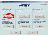 AUDI, VW, SKODA, SEAT (VAGCOM) VCDS DIAGNOSTIC FAULT CODE READING, CODING AND CLEARING VAG COM