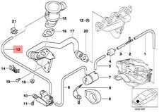 Genuine BMW E36 Z3 Cabrio Compact Vacuum Control Tube Hose