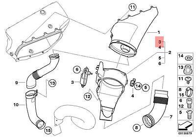 Genuine BMW E46 E60N E81 E82 Inlet Intake Manifold Actuator OEM 11617511383