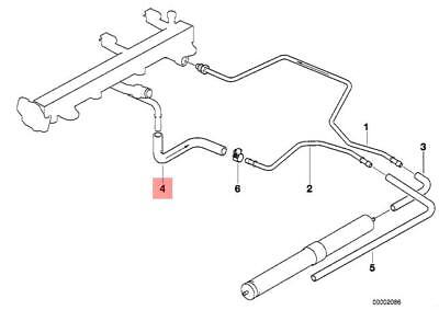 Genuine BMW E30 E34 E36 Z3 Hose Clamp Fuel Injection Kit OEM 13311703489