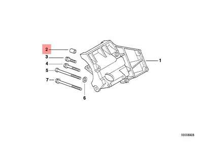 Genuine Engine Cylinder head Dowel x5 pcs BMW MINI ROLLS-ROYCE