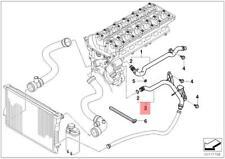Genuine Engine Thermostat Water Pipe BMW X3 X5 E46 E53 E83