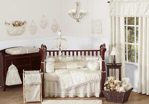 vintage crib bedding ebay. Black Bedroom Furniture Sets. Home Design Ideas