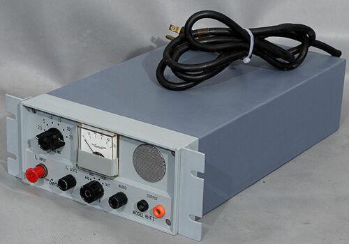 Gertsch/Singer RHF-1 High-Frequency Standards Receiver