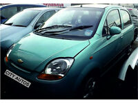 CHEVROLET MATIZ 2007 55,900 MILES 1.0 PETROL 5 DOOR HATCHBACK MANUAL BLUE