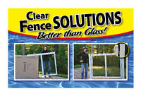 Pool Fence Clear Fence Solutions