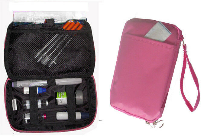 Diabetic Organizer Cooler Bag- for insulin & supply kits,w/