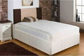 ***BES TSELLER*** Brand New Double and king Divan Bed Base With white orthopedic Mattress