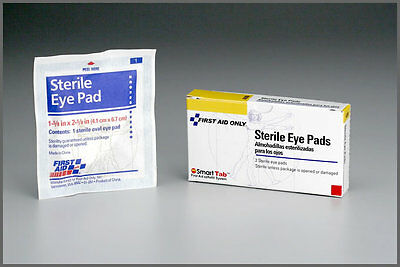 Sterile Oval Eye Pad - BRAND NEW STERILE OVAL EYE PAD BANDAGE COVERING GAUZE OCCLUDER