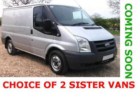 2011 Ford Transit 2.2TDCi Duratorq 85 280 Low Roof SWB - Choice of 2