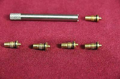 Vintag Ronson Lighter DIY Repair Kit - One Tool & 5 Valves for Type B