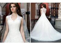 Justin Alexander Wedding dress 8720 size 18 (would fit 16)