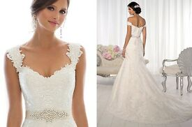 Wedding dress size 10/12 cost £1400 wanting £400