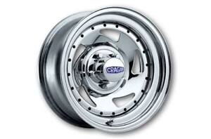 4 MAGS CRAGARS 15X8 CHEVROLET GM CHROME