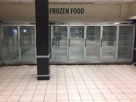 8 Multi-shelf Supermarket Remote Display Freezers