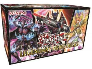 Yugioh Legendary Hero Decks for sale