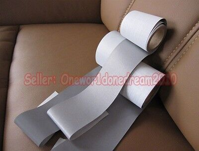 New Reflective Silver Tape Sew On 2 Trim Fabric 3m 10 Feet