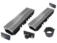 Drainage channel (All-in-one kits)   Grey plastic class A15 (1.500 kg)