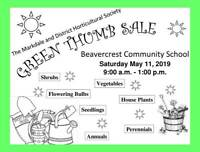 Markdale and District Horticultural Society Plant Sale
