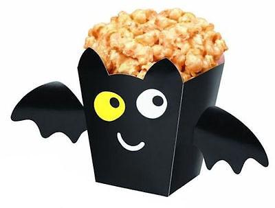 Wilton Treat Boxes (Halloween Bat Treat Boxes w/Stickers to Decorate  from Wilton #0514 -)