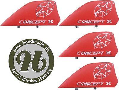 Concept X Kite Kiteboard Kitesurf Fin Finnen 4 Stck, HC… |