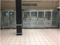 8 Multi-shelf Supermarket Remote Display Freezers