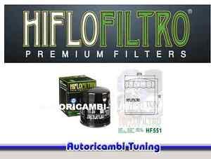 FILTRO-OLIO-HIFLO-MOTO-HF551-per-Moto-Guzzi-Stone-Metal-1100-cc-anni-2002-gt-2003