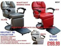 NEW! Salon Equipment Reception Desk Counter, Manicure Table, Waiting Sofa, Barber Styling Chair Pole