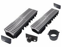 Drainage channel (All-in-one kits) | Grey plastic class A15 (1.500 kg)