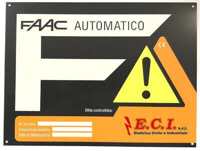 Signo Puerta Automática Automatización Eléctrica FAAC