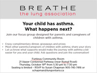 The Lung Association's Asthma Focus Group