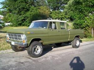 Wanted Ford crewcab