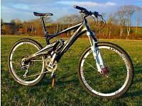 Whyte E-120 carbon mtb mountain bike