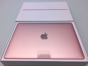 Rose Gold Macbook 12'