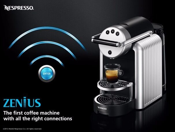 2017 nespresso zenius zn100 coffee tea maker machine cappucino espresso offic - Machine nespresso 2 tasses ...