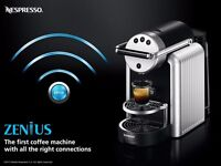 2017 Nespresso Zenius ZN100 Coffee Tea Maker Machine Cappucino Espresso Office Catering Restaurant
