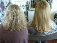 brazilian keratin blowdry,done in the comfort of your own home,all hairdressing services available